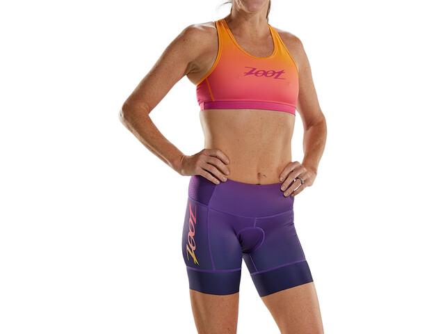 "Zoot LTD Shorts Tritlón 6"" Plus Mujer, rosa/naranja"